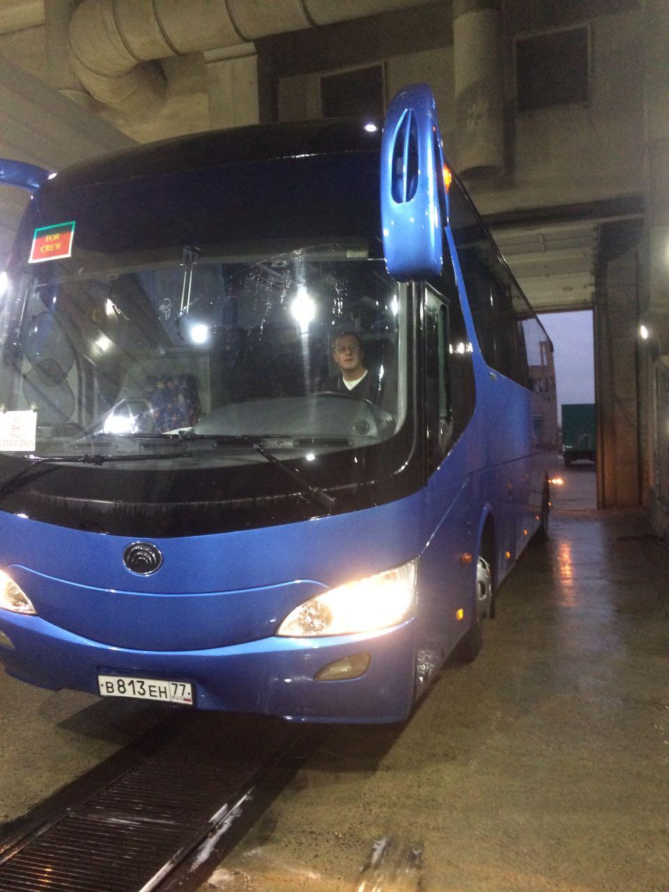 Автомойка для автобусов